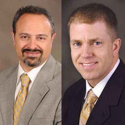 Claudio Ferraro and Kevin Strecker