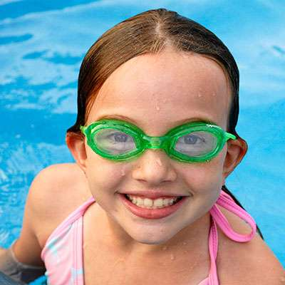 eye care and swimming